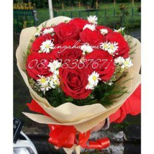 Bunga Valentine | Buket mawar Merah 081283676719