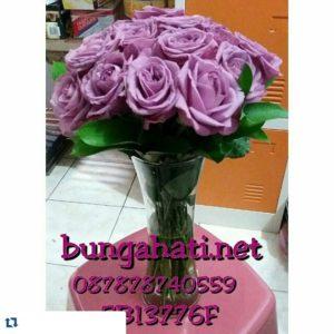 Bunga Vas Mawar Ungu Untuk Istri Tercinta 081283676719 Bunga Valentine