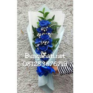 Handbuket Mawar Biru 081283676719   Bunga Valentine