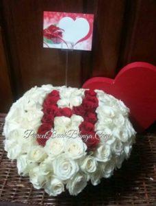 Bunga Box Mawar Valentine di Jakarta Pusat