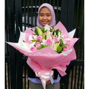 Handbouquet Valentine di Jakarta 081283676719